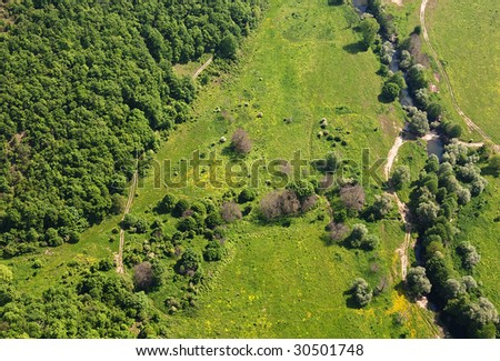 Aerial Photography.Strandja mountain,Bulgaria
