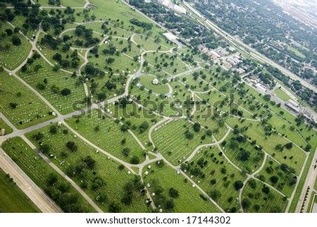 Aerial shot of a beautiful metropolitan landscape - stock photo