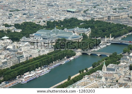 Aerial view - stock photo