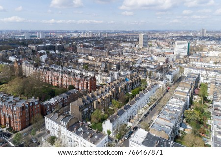 Aerial View London