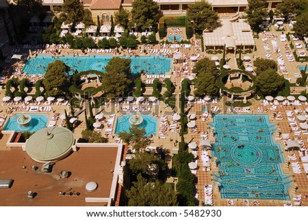 Las Vegas Pool Stock Images Royalty Free Images Vectors Shutterstock