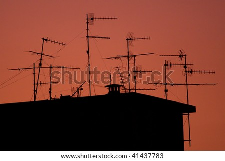 Aerials - stock photo