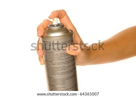 aerosol - stock photo