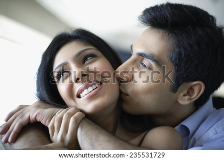 Affectionate Couple - stock photo