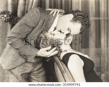 Affectionate couple - stock photo