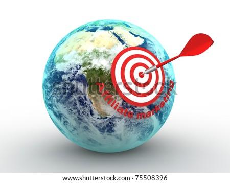 Affiliate marketing - stock photo