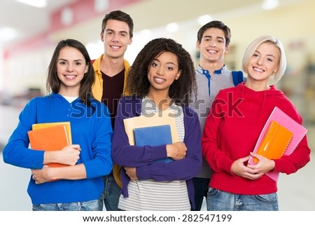African, african-american, asian. - stock photo