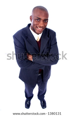 African American Man - Business - stock photo