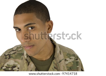 African American Serviceman