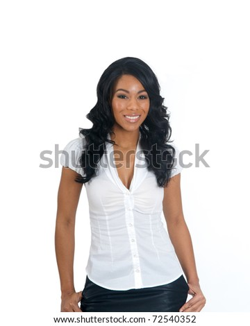 African American Woman - stock photo
