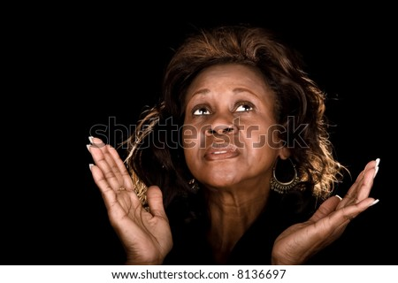 Woman Praying Clipart African American Woman Praying