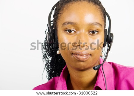 african customer service consultant
