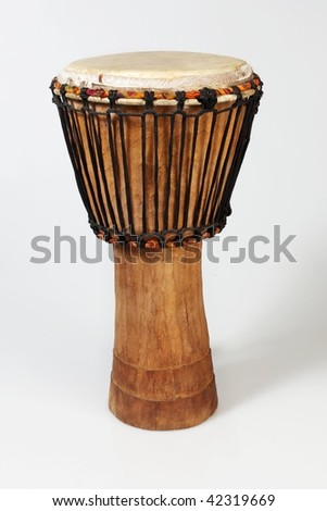 african drums - stock photo