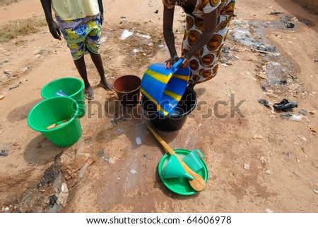 African life - stock photo