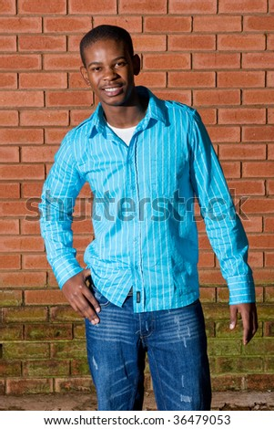 African male model