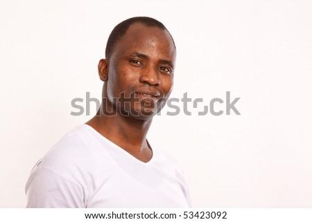 African Man - stock photo