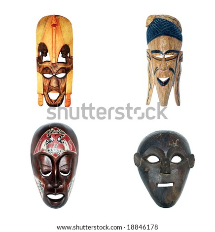 African masks (collection)