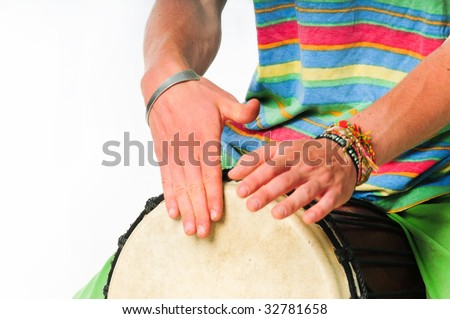 African Music - stock photo