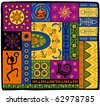 African ornament - stock vector