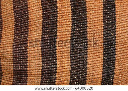 african woven bag background texture detail - stock photo