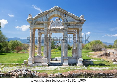 Afrodisias - stock photo