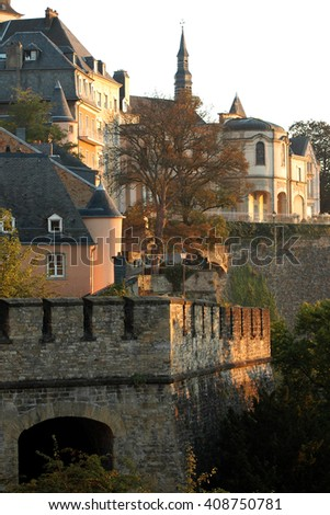 After arriving in the early hours of the morning into the capital city of Luxembourg