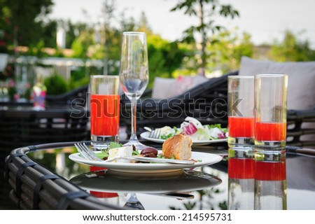 After partying - stock photo