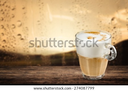 Afternoon, asian, background. - stock photo