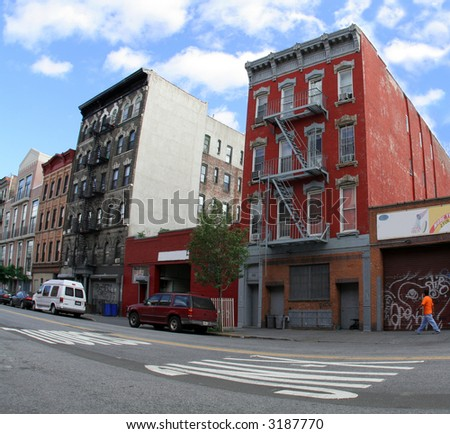 afternoon in brooklyn - stock photo