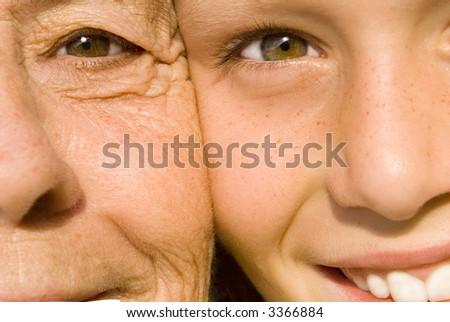 age gap - stock photo