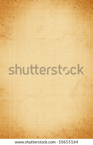aged canvas - stock photo