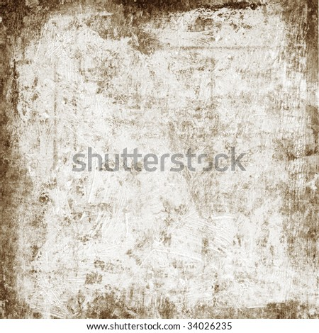 Aged cement wall with copy space