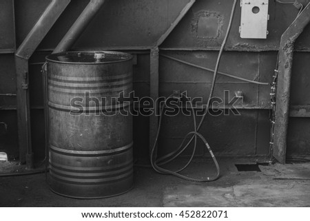 industrial fuel oil tanks bunch pile green rusty oil gas stock photo 447398980 shutterstock