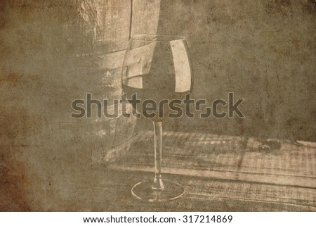 aged fine wine old grunge background