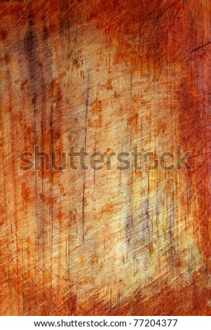 aged grunge abstact red wooden background - stock photo