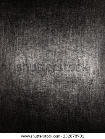 Aged metal texture. Dark steel background. - stock photo