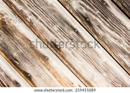 Aged natural wooden desks texture. - stock photo