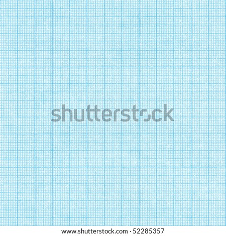 Aged old grid scale paper background. - stock photo