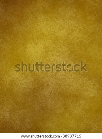 aged old yellow paper with brown edges - stock photo