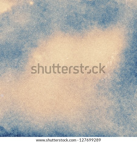 Aged paper texture with stains - stock photo