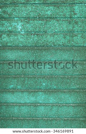aged rust metal background - striped rusty texture - old wall - stock photo