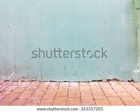 Aged street wall background, texture. Grungy concrete surface. Great background or texture for your project. - stock photo