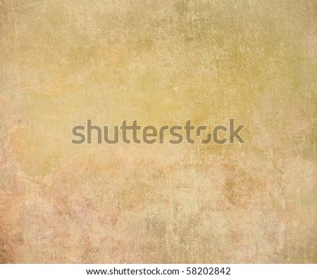 Aged Terracotta Plaster Background - stock photo