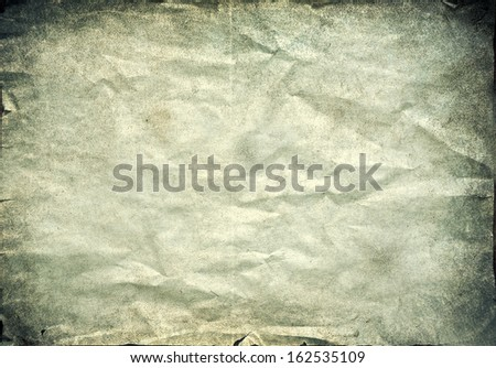 Aged vintage paper background - stock photo