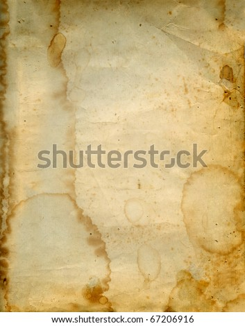 Aged vintage paper background. - stock photo
