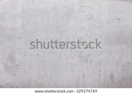 Aged white wall - stock photo