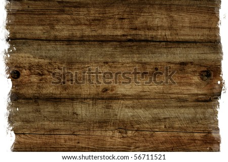 Aged wood texture - stock photo