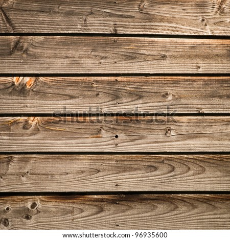 Aged wood texture from barn - stock photo