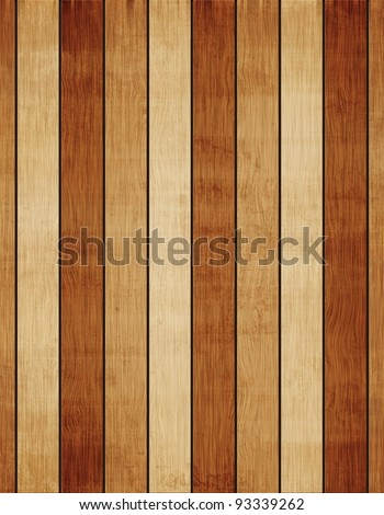Aged wood texture or wood grunge background - stock photo