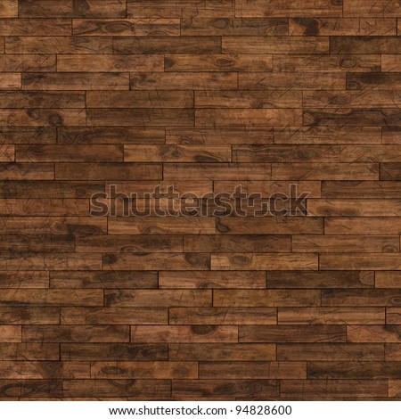 aged wooden floor for background - stock photo